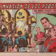 Tebeos: LA INVASION DE LOS ROBOTS.Nº 602. Lote 28101006