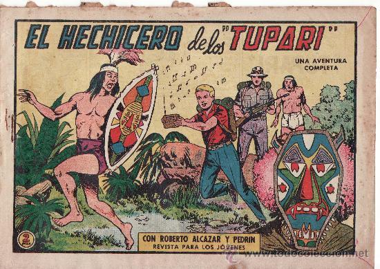 Nº 552 EL HECHICERO DE LOS TUPARI (Tebeos y Comics - Valenciana - Roberto Alcázar y Pedrín)
