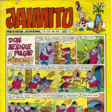 Tebeos: TEBEO JAIMITO Nº 1379 - EDIVAL 1976. Lote 28138404