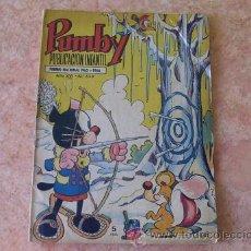 Tebeos: PUMBY,AÑO XVI,Nº 639,EDITORIAL VALENCIANA,AÑO 1970. Lote 28189790
