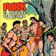 Tebeos: PURK,EL HOMBRE DE PIEDRA Nº 49 - ED.VALENCIANA 25/01/75. Lote 28217922