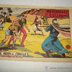 Tebeos: EL HIJO DE LA JUNGLA Nº 62 DE VALENCIANA ORIGINAL . AÑO 1950S.. Lote 28232201
