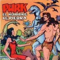 Tebeos: PURK,EL HOMBRE DE PIEDRA Nº 1 - ED.VALENCIANA 1974. Lote 28235635