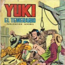 Tebeos: YUKI EL TEMERARIO Nº 17 - EDIVAL 18/12/1976. Lote 28235969