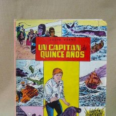 Tebeos: COMIC, JULIO VERNE, UN CAPITAN DE 15 AÑOS, VALENCIANA, 1984, Nº 6, CLASICOS ILUSTRADOS. Lote 28423567