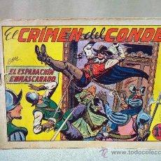 Tebeos: COMIC, EL ESPADACHIN ENMASCARADO, EL CRIMEN DEL CONDE, VALENCIANA, Nº 3, ORIGINAL. Lote 28503427