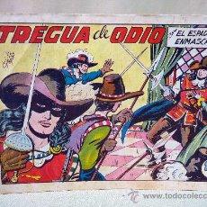 Tebeos: COMIC, EL ESPADACHIN ENMASCARADO, TREGUA DE ODIO, VALENCIANA, Nº 13, ORIGINAL. Lote 28503634