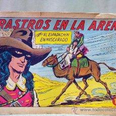 Tebeos: COMIC, EL ESPADACHIN ENMASCARADO, RASTROS EN LA ARENA, VALENCIANA, Nº 250, ORIGINAL. Lote 28504238