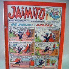 Tebeos: COMIC, JAIMITO, AÑO XIV, Nº 516, VALENCIANA, 1959, ORIGINAL. Lote 28507691