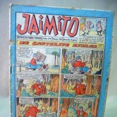 Tebeos: COMIC, JAIMITO, AÑO XV, Nº 569, VALENCIANA, 1960, ORIGINAL. Lote 28507713
