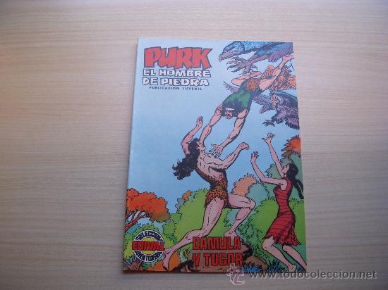 PURK EL HOMBRE DE PIEDRA Nº 16, VALENCIANA COLOR (Tebeos y Comics - Valenciana - Purk, el Hombre de Piedra)