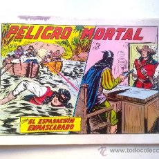 Tebeos: EL ESPADACHIN ENMASCARADO, PELIGRO MORTAL, Nº 27, 2ª EDICION, EDITORA VALENCIA 1981. Lote 28595946