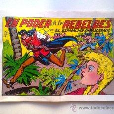 Tebeos: EL ESPADACHIN ENMASCARADO, EN PODER DE LOS REBELDES, Nº 29, 2ª EDICION, EDITORA VALENCIA 1981. Lote 28595968