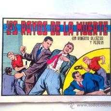 Tebeos: ROBERTO ALCAZAR Y PEDRIN, LOS RAYOS DE LA MUERTE, Nº 101, EDITORA VALENCIA 1983. Lote 28595993