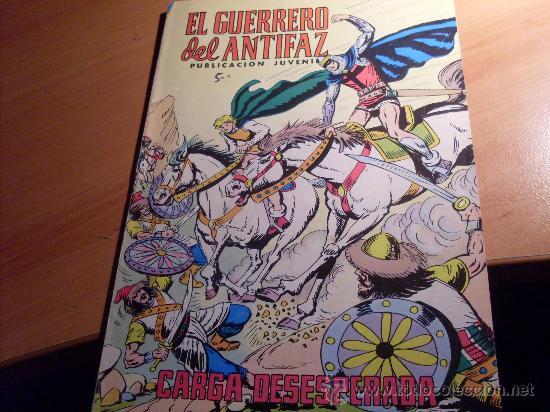 GUERRERO ANTIFAZ Nº 332 ( EDITORIAL VALENCIANA ) (Tebeos y Comics - Valenciana - Guerrero del Antifaz)
