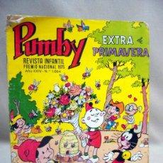 Tebeos - COMIC, PUMBY, AÑO XXIV, Nº 1064, EXTRA PRIMAVERA, ORIGINAL, VALENCIANA - 28709286