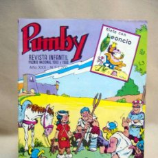 Tebeos: COMIC, PUMBY, AÑO XXX, Nº 1200, ORIGINAL, VALENCIANA. Lote 28709732
