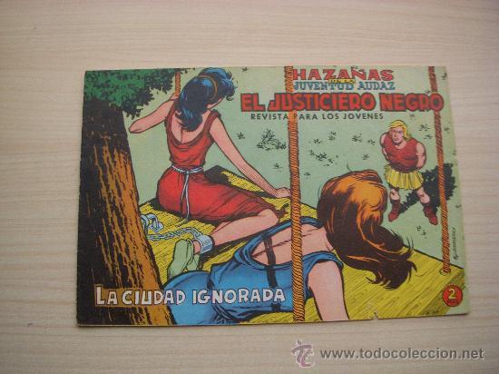 EL JUSTICIERO NEGRO Nº 8, EDITORIAL VALENCIANA (Tebeos y Comics - Valenciana - Otros)