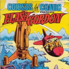 Tebeos: FLASH GORDON. EL PLANETA KROGIUS. COLOSOS DEL COMIC Nº 11. EDITORIAL VALENCIANA.. Lote 28993668