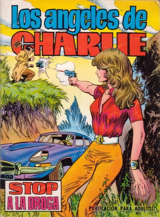 LOS ANGELES DE CHARLIE. STOP A LA DROGA. VOLUMEN Nº 1. EDITORIAL VALENCIANA. (Tebeos y Comics - Valenciana - Otros)