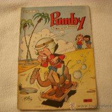 Tebeos: PUMBY Nº 291, EDITORIAL VALENCIANA. Lote 29152368