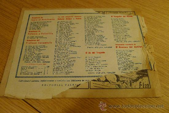 Tebeos: Lote de tebeos apaisados originales del Guerrero del antifaz - Foto 8 - 29159004
