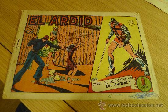 Tebeos: Lote de tebeos apaisados originales del Guerrero del antifaz - Foto 7 - 29159004