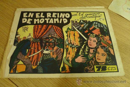 Tebeos: Lote de tebeos apaisados originales del Guerrero del antifaz - Foto 19 - 29159004