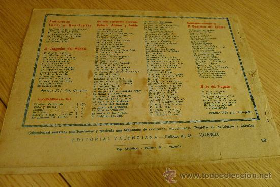 Tebeos: Lote de tebeos apaisados originales del Guerrero del antifaz - Foto 18 - 29159004