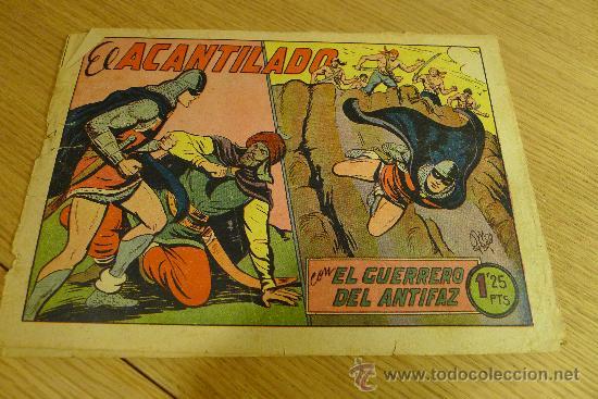 Tebeos: Lote de tebeos apaisados originales del Guerrero del antifaz - Foto 15 - 29159004