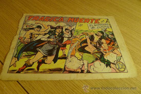 Tebeos: Lote de tebeos apaisados originales del Guerrero del antifaz - Foto 17 - 29159004