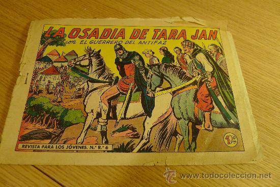 Tebeos: Lote de tebeos apaisados originales del Guerrero del antifaz - Foto 35 - 29159004
