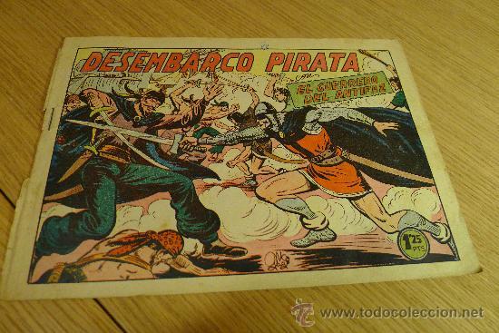 Tebeos: Lote de tebeos apaisados originales del Guerrero del antifaz - Foto 32 - 29159004