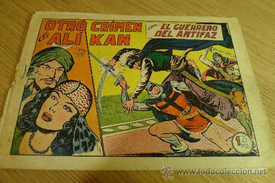 Tebeos: Lote de tebeos apaisados originales del Guerrero del antifaz - Foto 28 - 29159004