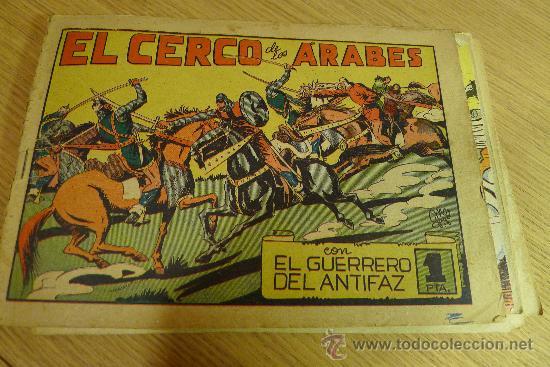 Tebeos: Lote de tebeos apaisados originales del Guerrero del antifaz - Foto 36 - 29159004