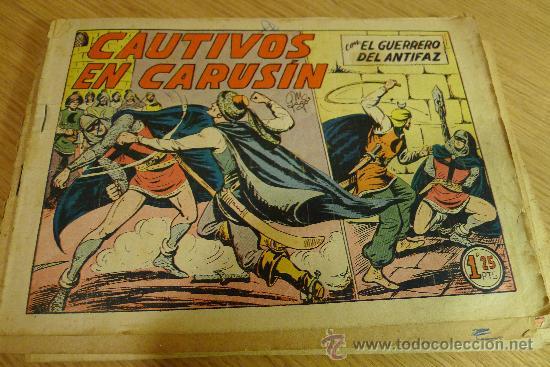 Tebeos: Lote de tebeos apaisados originales del Guerrero del antifaz - Foto 37 - 29159004