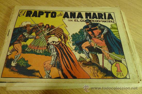 Tebeos: Lote de tebeos apaisados originales del Guerrero del antifaz - Foto 40 - 29159004