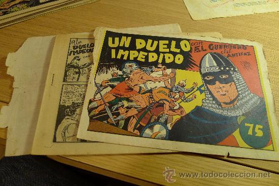 Tebeos: Lote de tebeos apaisados originales del Guerrero del antifaz - Foto 41 - 29159004