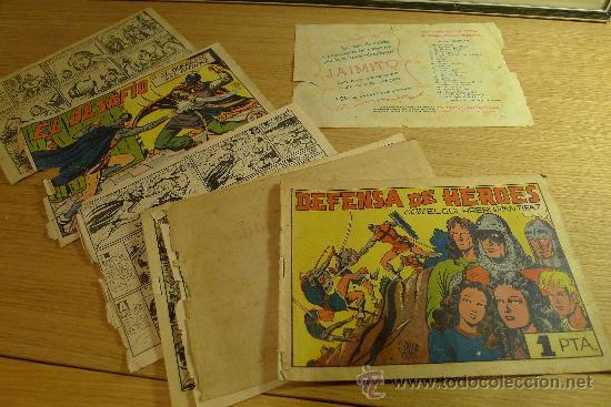 Tebeos: Lote de tebeos apaisados originales del Guerrero del antifaz - Foto 42 - 29159004