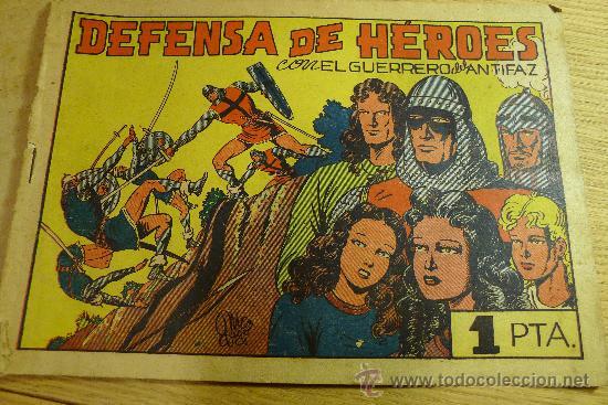 Tebeos: Lote de tebeos apaisados originales del Guerrero del antifaz - Foto 43 - 29159004
