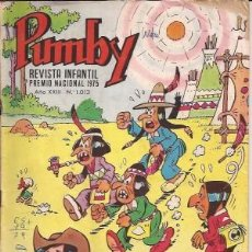 Tebeos: PUMBY Nº 1013. Lote 29218586