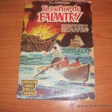 Tebeos: SELECCIÓN DE AVENTURAS ILUSTRADAS Nº 5 EL SEÑOR DE BALANTRY. EDITORIAL VALENCIANA 1959.. Lote 29276855