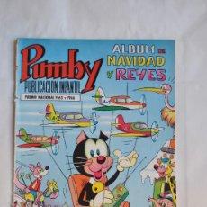Tebeos: PUMBY ALBUM DE NAVIDAD Y REYES AÑO 1969. Lote 29266599