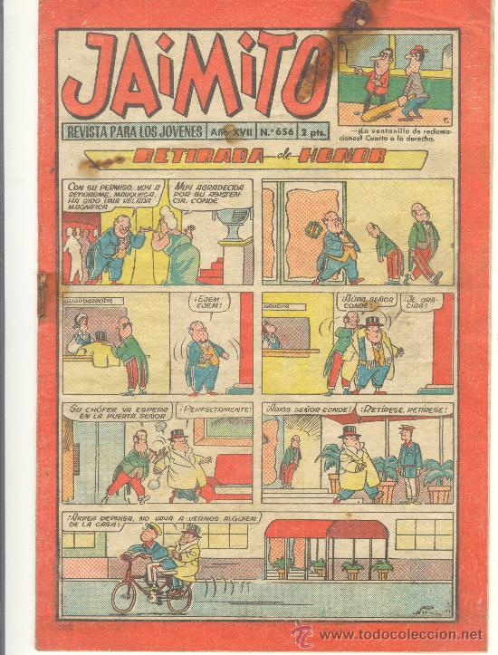 JAIMITO Nº 656 (Tebeos y Comics - Valenciana - Jaimito)