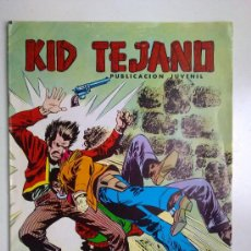 Tebeos: COLOSOS DEL COMIC, EN EL UMBRAL DEL MISTERIO, KID TEJANO, Nº 117, EDI.VALENCIANA 1980. Lote 29756780