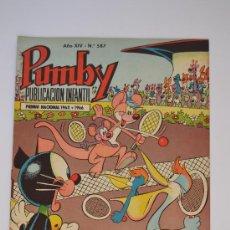 Tebeos: PUMBY Nº 587. Lote 29796180
