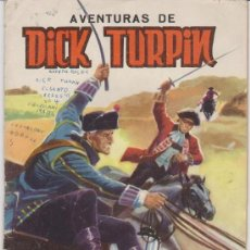 Tebeos: AVENTURAS DE DICK TURPIN. SELECCIÓN DE AVENTURAS ILUSTRADAS. VALENCIANA 1965.. Lote 29809389