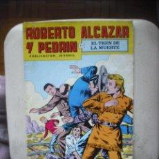 Tebeos: ROBERTO ALCAZAR Y PEDRIN EN EL TREN DE LA MUERTE. Lote 29964969