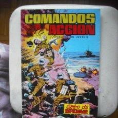 Tebeos: COMANDOS EN ACCION - CENTRO DE ESPIONAJE. Lote 29965222