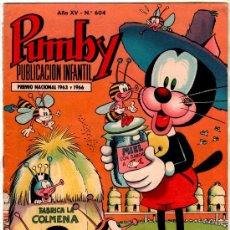 Tebeos: PUMBY Nº 604 EDI. VALENCIANA 1969, J. SANCHIS, NIN, GREMA, PALOP, EDGAR, KARPA, SIFRÉ, CERDAN. . Lote 30117973